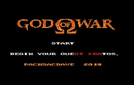 Вышел God of War для NES