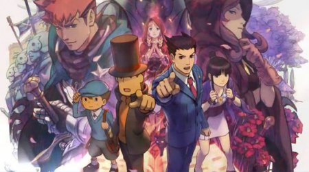 Professor Layton vs. Phoenix Wright: Ace Attorney в английском топ-20