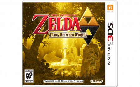 Обзор The Legend Of Zelda: A Link Between Worlds
