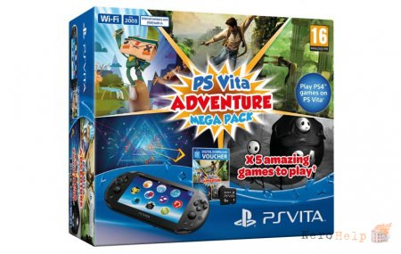 Бандл PS Vita Adventure Mega Pack для Европы