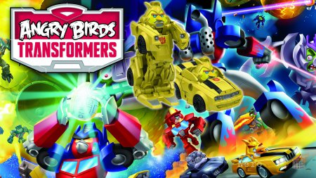Обзор Angry Birds Transformers | РобоЦЫП и киберСВИН