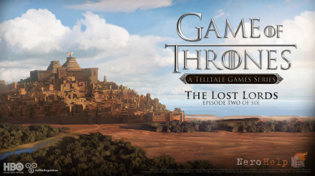 Трейлер Game of Thrones: Episode 2 – The Lost Lords