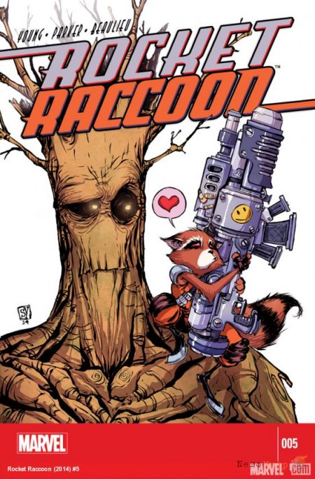 Реактивный енот / Rocket Raccoon