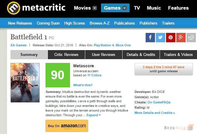 critic review critical review