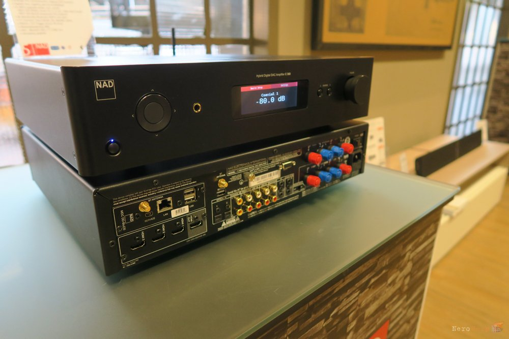Review of the NAD amplifier C 368