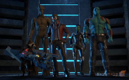 Marvel's Guardians of the Galaxy: The Telltale Series - дебютный трейлер игры