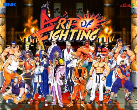 Обзор Art of Fighting