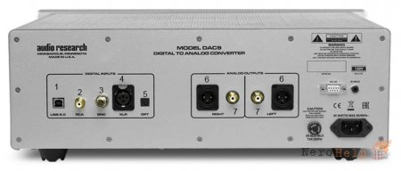 Обзор ЦАП Audio Research DAC 9