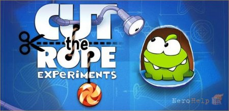Мини-обзор Cut the rope Experiments HD