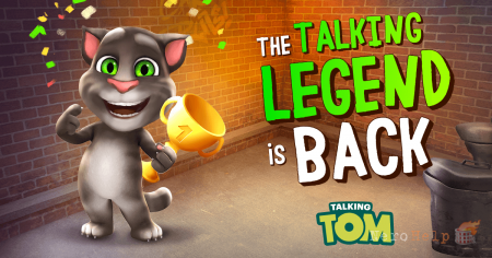 Мини-обзор Talking Tom Cat