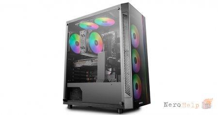 Компьютерный корпус DeepCool Matrexx 55 ADD-RGB 3F