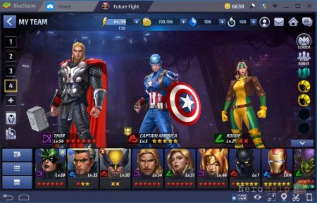 Обзор Marvel Future Fight